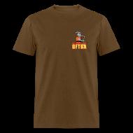 T-Shirts ~ Men's T-Shirt ~ Goat in Canoe (plain back) - Mens Standard