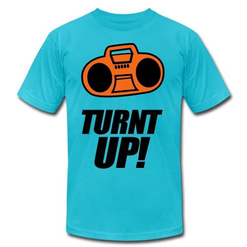 TURNT THA MUSIC UP! - Men's  Jersey T-Shirt