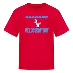 Kids Red Doubleclicks Tshirt - Kids' T-Shirt