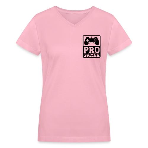 Women's Pro Theory - Women's V-Neck T-Shirt