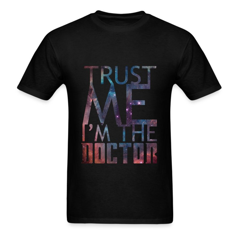 Doctor Who Trust Me - Men's T-Shirt