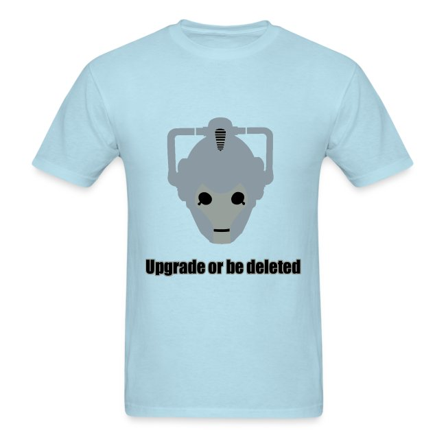 9f747338e the HYR T-Shirt Factory | Doctor Who Cyberman - Mens T-Shirt