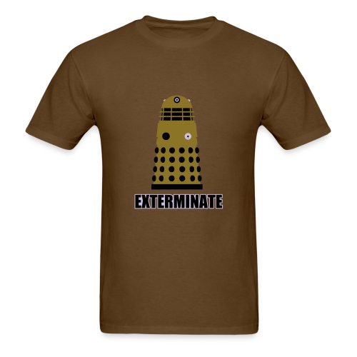 Doctor Who Exterminate - Men's T-Shirt
