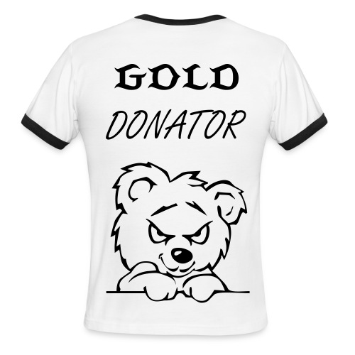 gold donator shirt - Men's Ringer T-Shirt