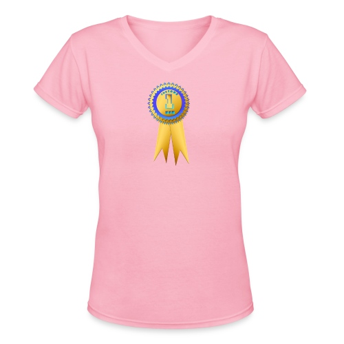 Awesome Mom - Women's V-Neck T-Shirt