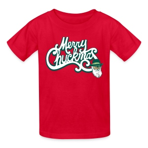 Merry Chuckmas by Tai's Tees - Kids' T-Shirt