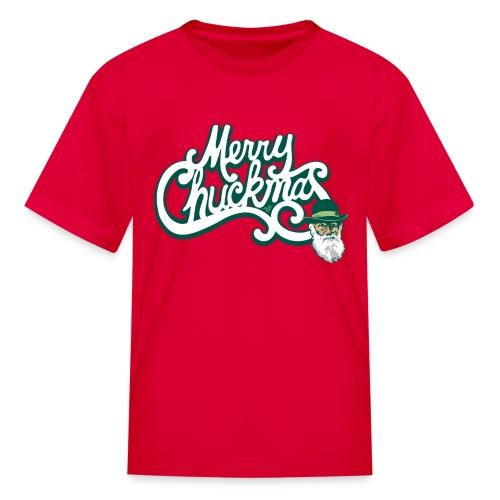 Merry Chuckmas by Tai's Tees - Kids' T-Shirt