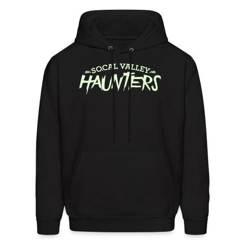 SoCal Valley Haunters Unisex Glow in the Dark Pull-Over Sweatshirt - Men's Hoodie