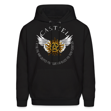 Castiel Protection Symbol Hoodies