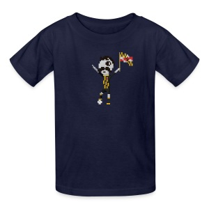 Kids T-Shirt - 8bit Mr. Boh - Kids' T-Shirt
