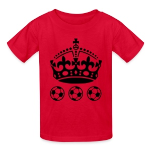 King of fotball - Kids' T-Shirt