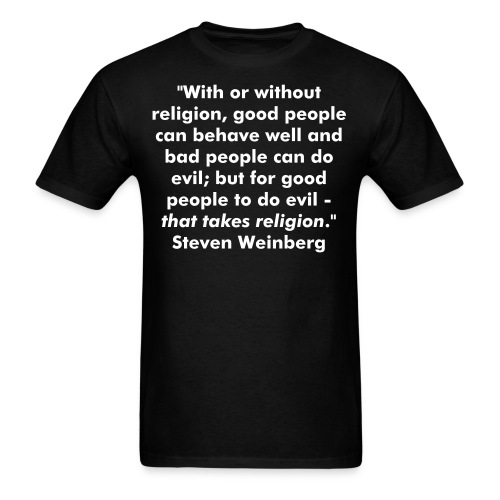 For Good People to Do Evil - Men's T-Shirt
