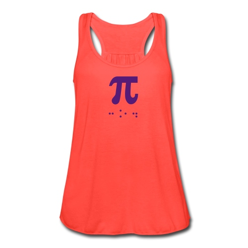 Pi number- Braille - Women's Flowy Tank Top by Bella