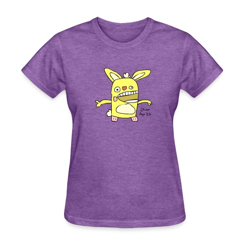 How To Draw - Cuddles - Women's T-Shirt