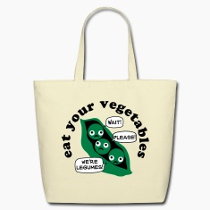 Eat Your Legumes Tote Bag