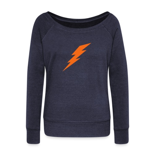 Thunder Up - Women's Wideneck Sweatshirt