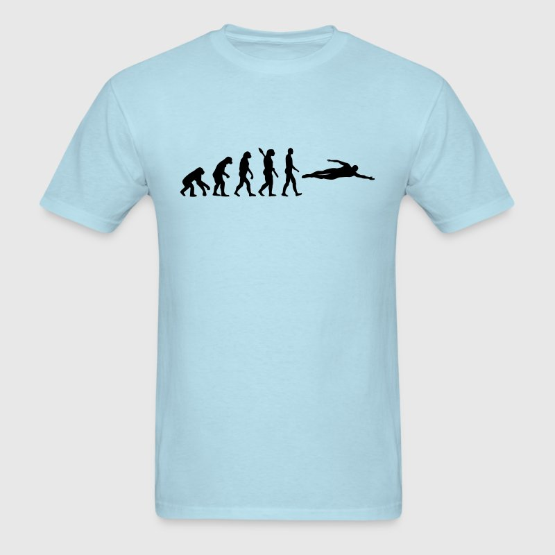 Evolution Swimming T-Shirts - Men's T-Shirt