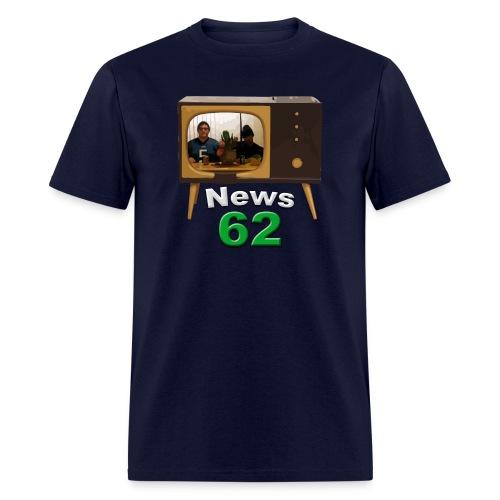 News 62 Tv shirt - Men's T-Shirt
