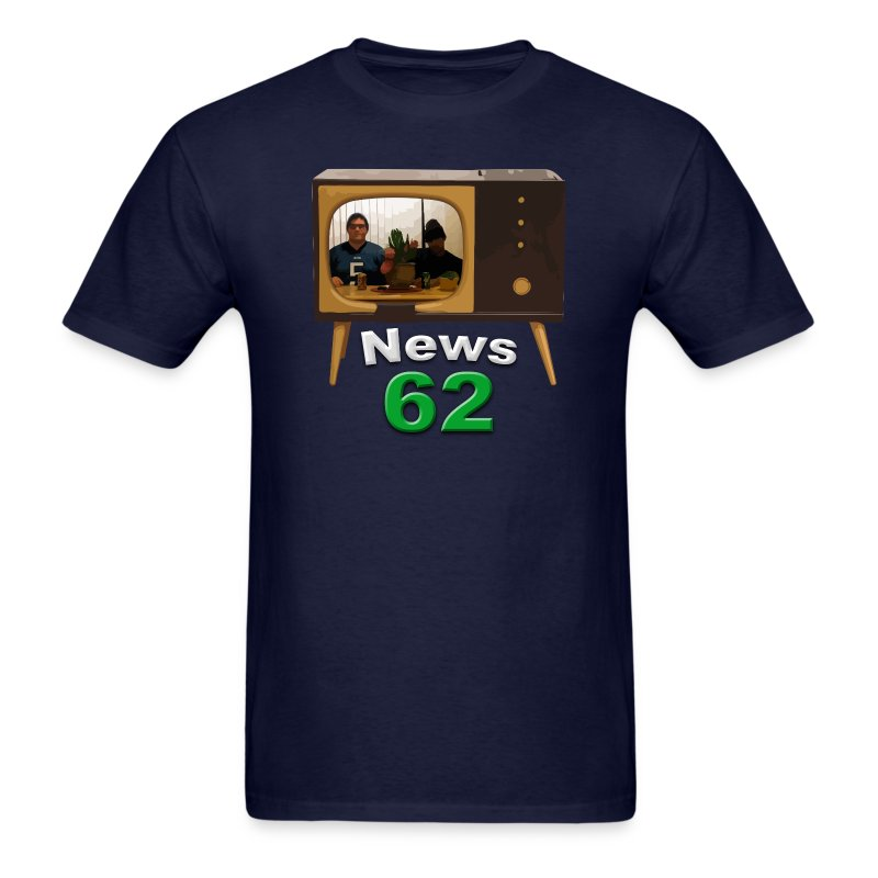 News 62 Tv shirt - Men's T-Shirt