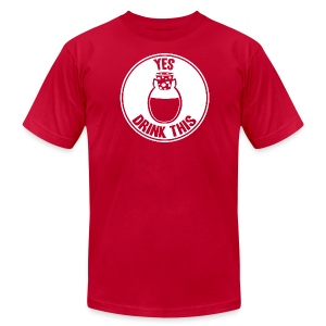 Yes, Drink This! - Men's T-Shirt by American Apparel