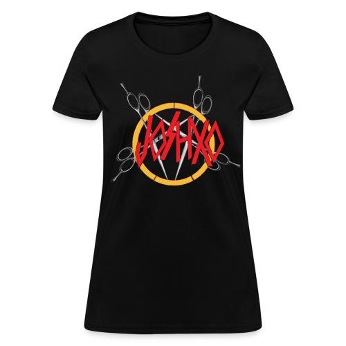 Womens JoshXO Metal Logo - Women's T-Shirt