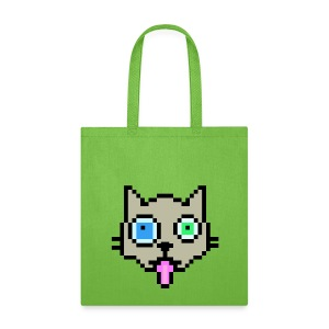 8-Bit Cat - Tote Bag