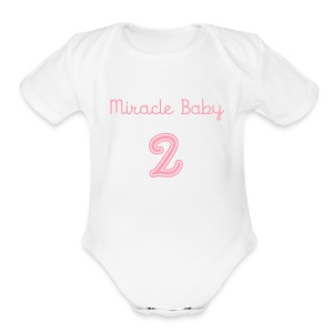 Miracle Baby One-Piece - Short Sleeve Baby Bodysuit