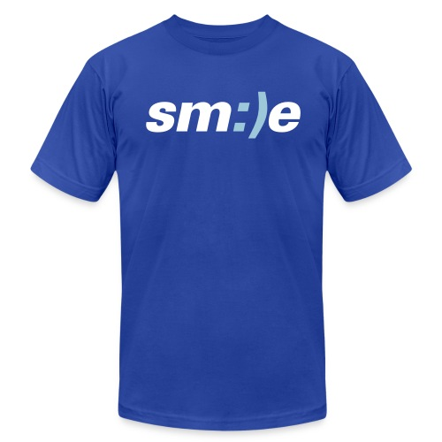smile - Men's Fine Jersey T-Shirt