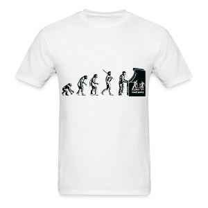 Gamers eveluition - Men's T-Shirt