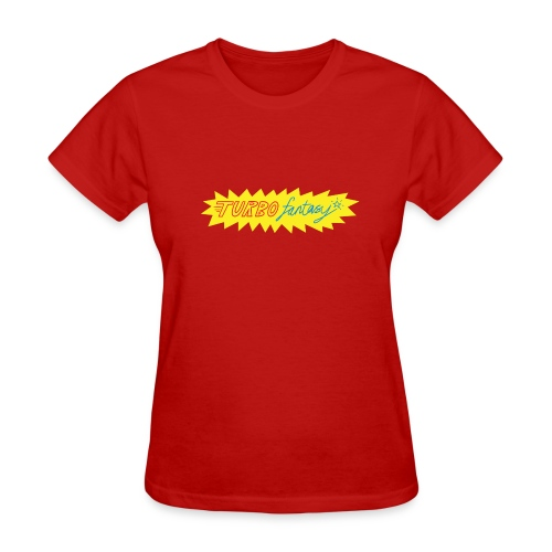 Turbo Fantasy - Turbo logo - Women's T-Shirt
