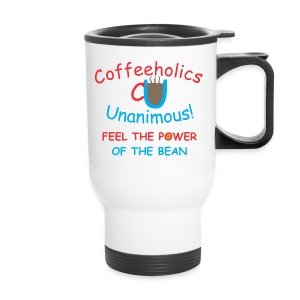 CU power of bean travel mug - Travel Mug
