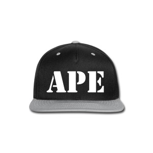 APE - Snap-back Baseball Cap