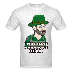 MAKAROV'S HEAD - Men's T-Shirt