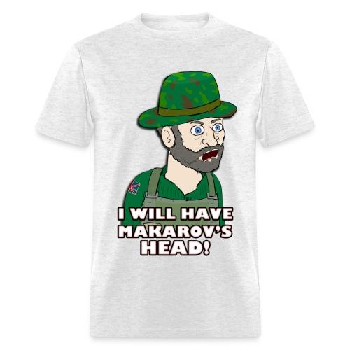 MAKAROV'S HEAD - Men's T-Shirt