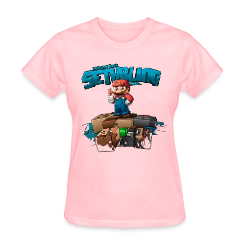 SethBling's Pile of Bodies (Women) - Women's T-Shirt