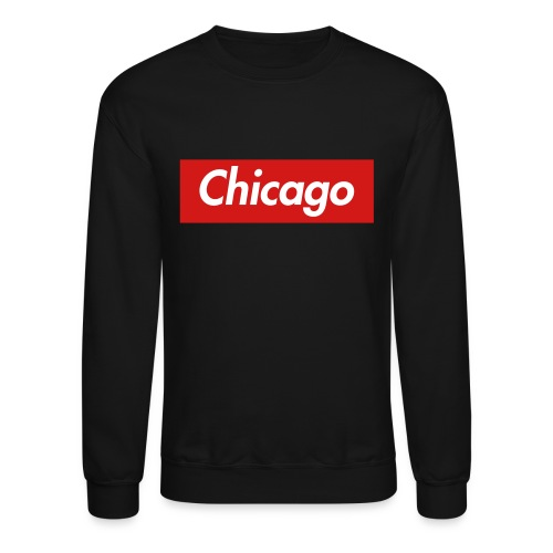 Chicago Tech Box Crewneck - Crewneck Sweatshirt