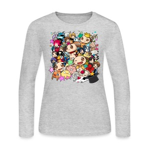 Ladies Long Sleeve - 7th Anniversary - Women's Long Sleeve Jersey T-Shirt