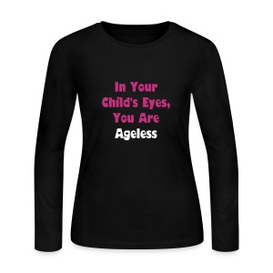 Pink Long Sleeve Ageless - Women's Long Sleeve Jersey T-Shirt