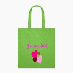 Jersey Girl Hearts Bag