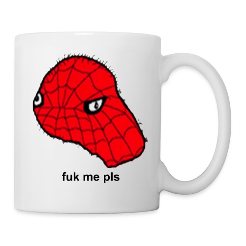 SPODERMEN fuk me pls Coffee Mug - Coffee/Tea Mug