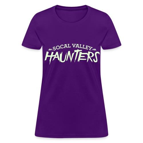 SoCal Valley Haunters Womens Tee - Glow in the Dark - Women's T-Shirt