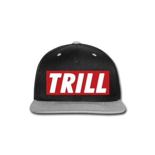 Trill Lyfe Snapback Grey - Snap-back Baseball Cap