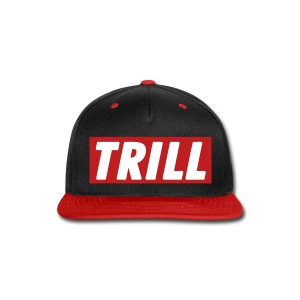 Trill Lyfe Snapback Red - Snap-back Baseball Cap