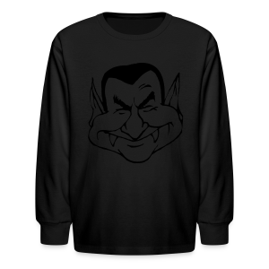 Vampire Face - Kids' Long Sleeve T-Shirt