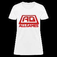 Women's T-Shirts ~ Women's T-Shirt ~ All Games Logo Red (Womens)