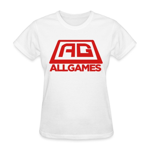 All Games Logo Red (Womens) - Women's T-Shirt