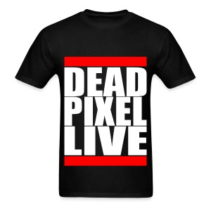 Dead Pixel Live - Run DPL Black - Men's T-Shirt