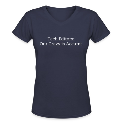 Accurat - Women's V-Neck T-Shirt