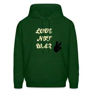 love not war - Men's Hoodie