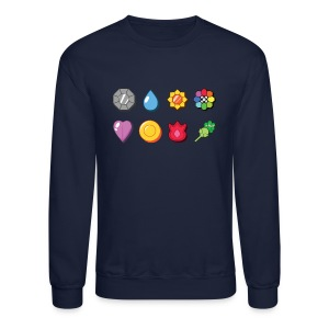 Badges Crewneck - Crewneck Sweatshirt